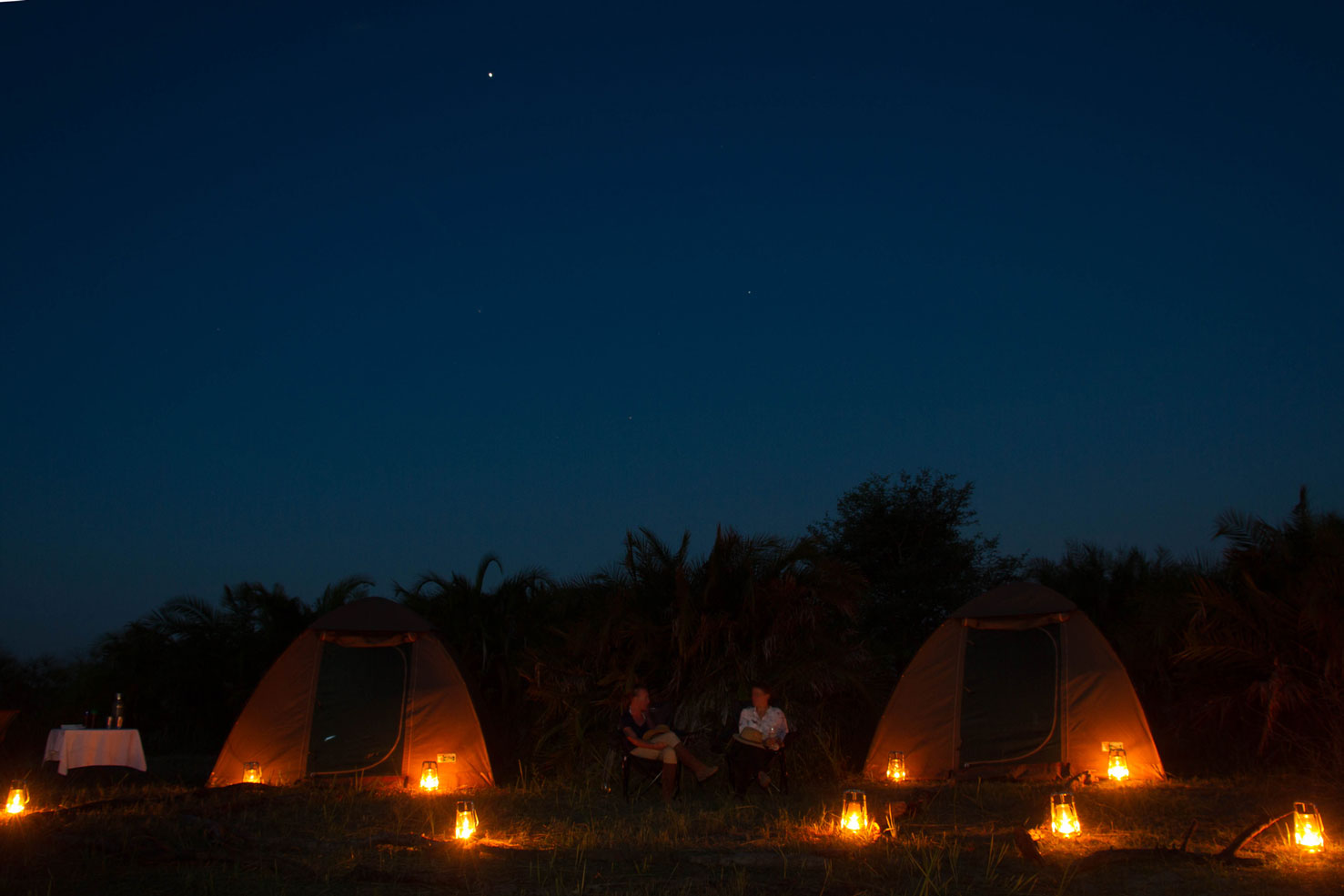 glamping Botswana