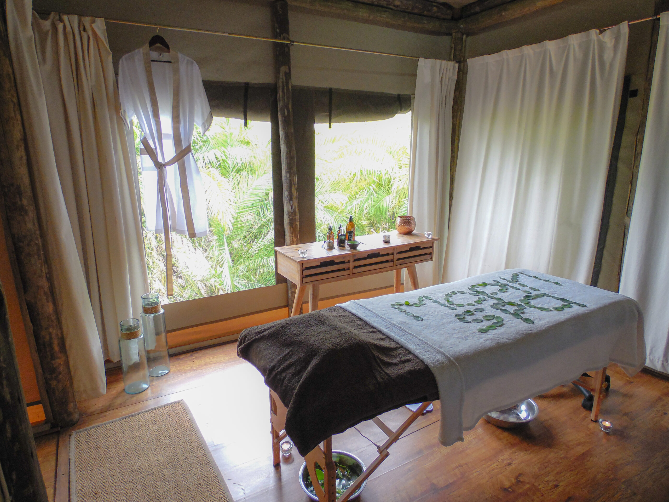 Luxury spa treatments botswana