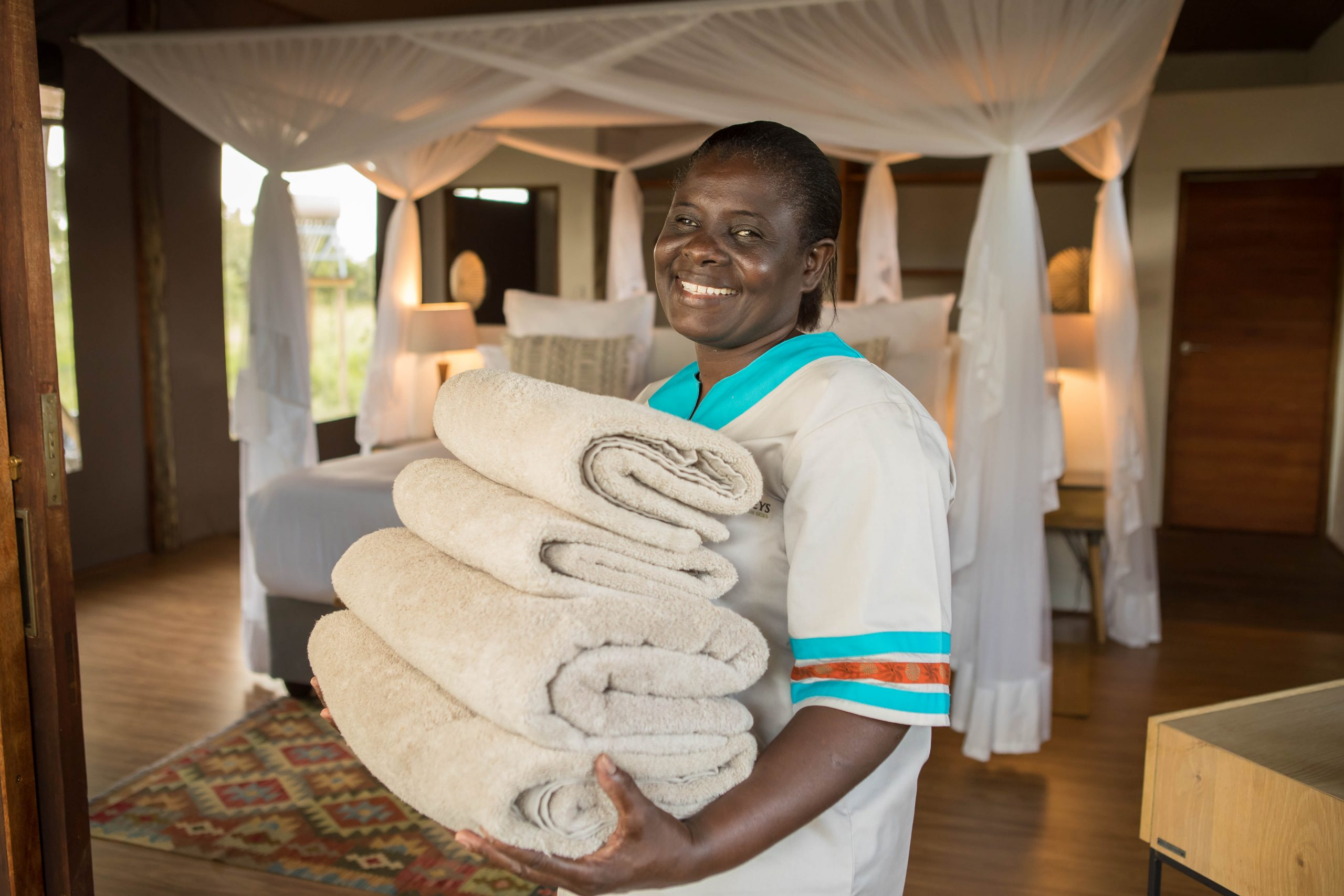 maid service for luxury rooms