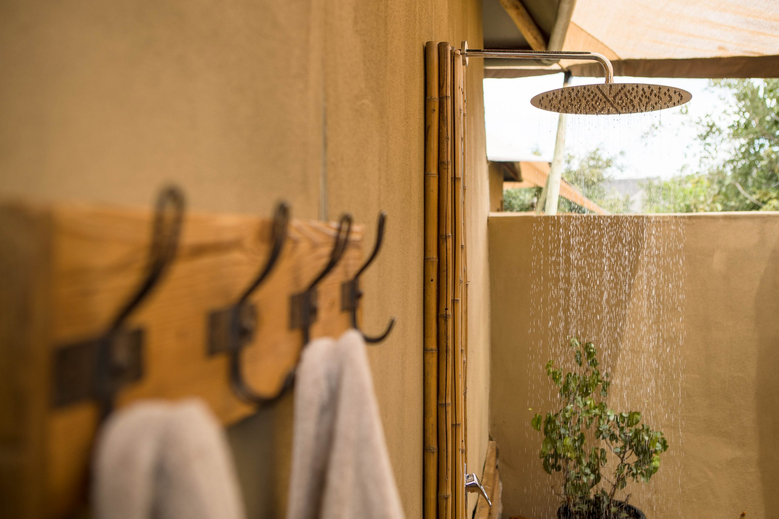 Luxury Outdoor Private Rain Showers