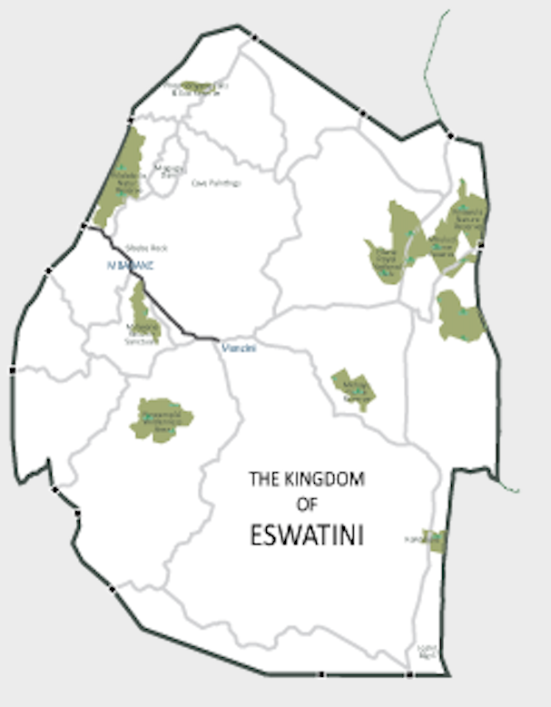 Eswatini Maps